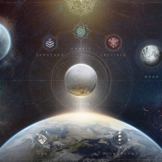 Destiny 2 map for year 4